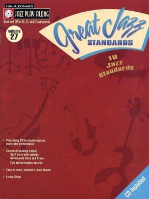 - Jazz play-along volume 27 - Great Jazz Standards - Sheet Music - di-arezzo.co.uk