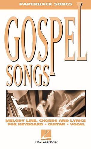 - Paperback songs - Gospel Songs - Partition - di-arezzo.fr