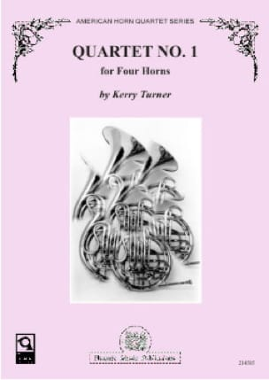 Kerry Turner - Quartet N ° 1 - Sheet Music - di-arezzo.co.uk