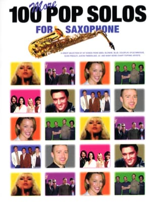 More 100 Pop Solos For Saxophone - Partition - laflutedepan.com
