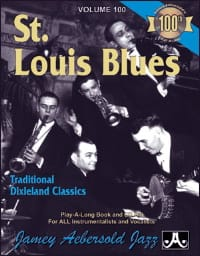 Volume 100 - St. Louis Blues METHODE AEBERSOLD Partition laflutedepan