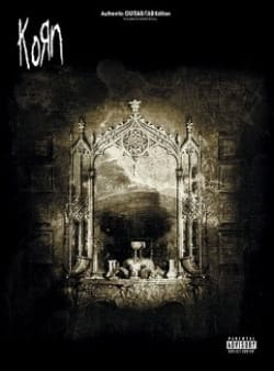Korn - Take A Look In The Mirror - Sheet Music - di-arezzo.co.uk