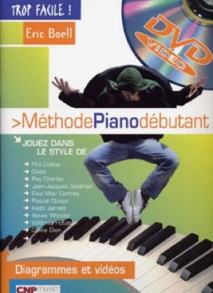 Eric Boell - Beginner Piano Method Too Easy - Sheet Music - di-arezzo.com