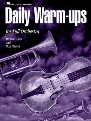 Allen M. / Hanna D. - Daily Warm-Ups - Sheet Music - di-arezzo.co.uk