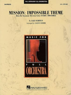 Lalo Schifrin - Mission: Impossible Theme - Partition - di-arezzo.fr