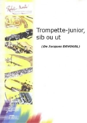 Trompette-Junior Jacques Devogel Partition Trompette - laflutedepan