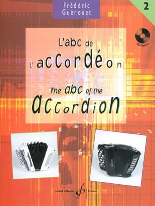 Frédéric Guérouet - L' ABC de L' Accordéon Volume 2 - Partition - di-arezzo.fr