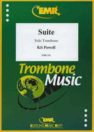 Kit Powell - Suite For Solo Ténor Trombone - Partition - di-arezzo.fr