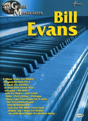Bill Evans - Great Musicians Series - Sheet Music - di-arezzo.co.uk
