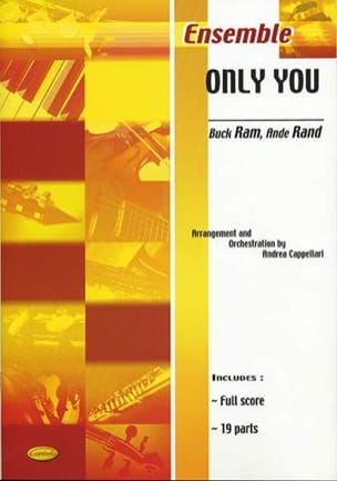 Only You - Ram B. / Rand A. - Partition - ENSEMBLES - laflutedepan.com