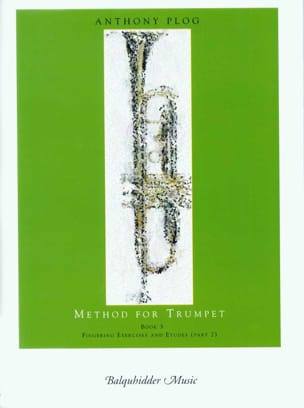 Method for trumpet book 3 - Anthony Plog - laflutedepan.com