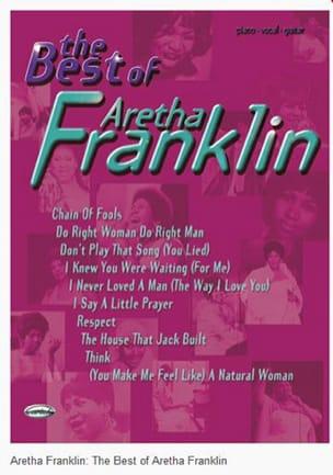 Aretha Franklin - The Best Of Aretha Franklin - Partition - di-arezzo.fr