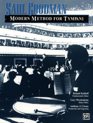 Saul Goodman - Modern Method For Tympani - Sheet Music - di-arezzo.co.uk