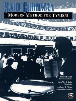 Saul Goodman - Modern Method For Tympani - Sheet Music - di-arezzo.com