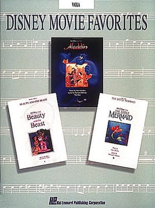 DISNEY - Disney Movie Favorites - Partition - di-arezzo.fr