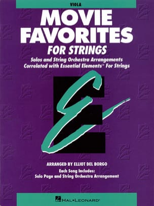 Movie Favorites For Strings - Partition - Alto - laflutedepan.com