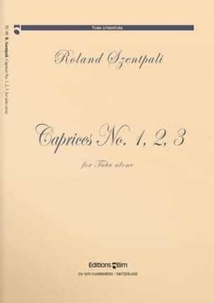 Roland Szentpali - Caprices N ° 1, 2, 3 - Sheet Music - di-arezzo.co.uk