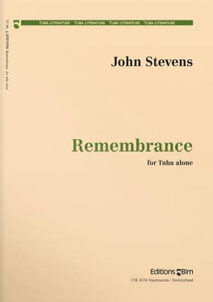 Remembrance John Stevens Partition Tuba - laflutedepan