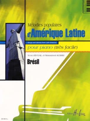 Rivoal Yvon / Kobiki Massanori - Popular Melodies Latin America - Brazil - Sheet Music - di-arezzo.co.uk
