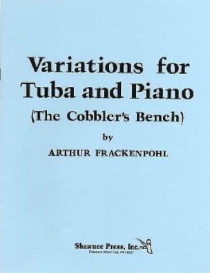 Variations For Tuba And Piano Arthur Frackenpohl laflutedepan