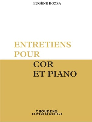Eugène Bozza - Interviews - Sheet Music - di-arezzo.com
