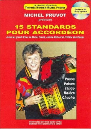 15 Standards Pour Accordéon - Michel Pruvot - laflutedepan.com