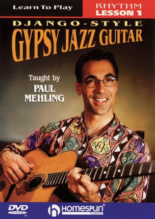 Paul Mehling - DVD - Django-Style, Gypsy Jazz Guitar, Rhythm Lesson 1 - Partition - di-arezzo.fr