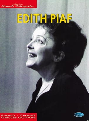 Collection Grands Interprètes Edith Piaf Partition laflutedepan