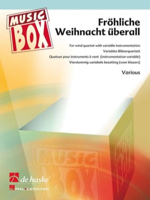 Frohliche weihnacht uberall - music box - laflutedepan.com