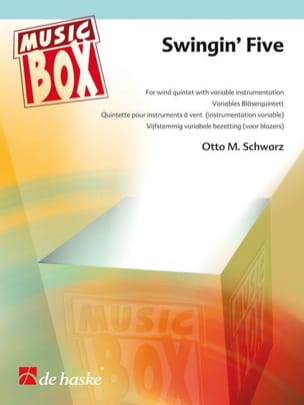Swingin' five - music box Otto M. Schwarz Partition laflutedepan