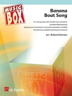 Banana boat song - music box Traditionnel Partition laflutedepan