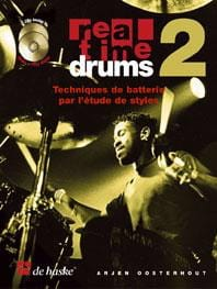 Arjen Oosterhout - Real Time Drums 2 - Drum Techniques By Studying Styles - Sheet Music - di-arezzo.co.uk