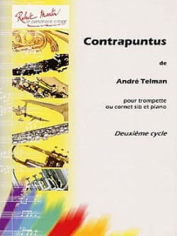 André Telman - Contrapunctus - Sheet Music - di-arezzo.co.uk