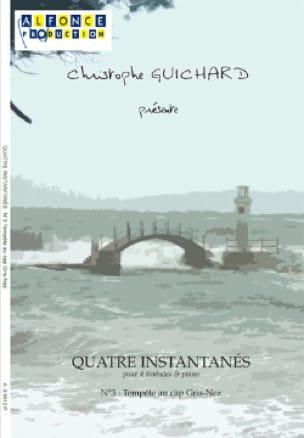 Christophe Guichard - Four Snapshots N ° 3 Storm At Cap Gris-Nez - Sheet Music - di-arezzo.com