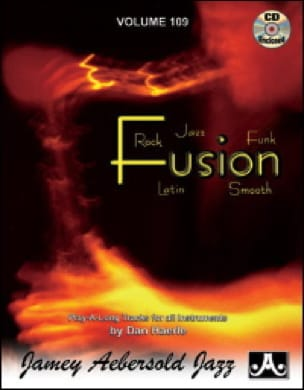 Volume 109 - Fusion - METHODE AEBERSOLD - Partition - laflutedepan.com