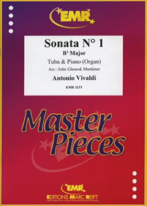 Sonata N° 1 In Bb Major VIVALDI Partition Tuba - laflutedepan