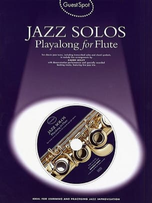 - Guest Spot - Jazz Solos Playalong For Flute - Partition - di-arezzo.fr