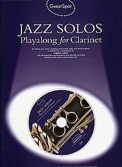 - Guest Spot - Solo Jazz Playalong For Clarinet - Sheet Music - di-arezzo.com