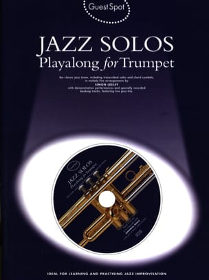 Guest Spot - Jazz Solos Playalong For Trumpet - laflutedepan.com