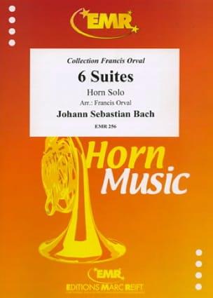 BACH - 6 Suites - Sheet Music - di-arezzo.com