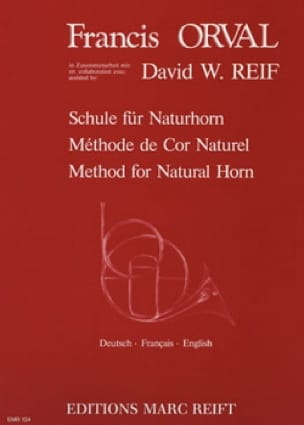 Orval Francis / Reif David W. - Natural Horn Method - Sheet Music - di-arezzo.co.uk
