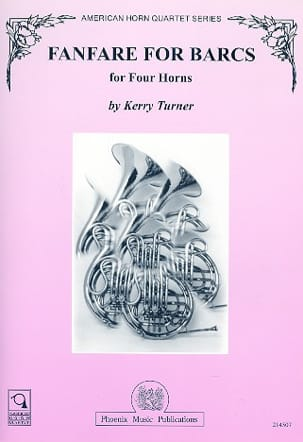 Kerry Turner - Fanfare For Barcs - Partition - di-arezzo.fr