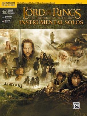 Howard Shore - Le seigneur des anneaux - Instrumental solos - Partition - di-arezzo.fr