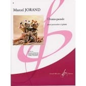 Drums-Parade Marcel Jorand Partition Multi Percussions - laflutedepan