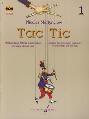 Nicolas Martynciow - Tac Tic Volume 1 - Sheet Music - di-arezzo.co.uk