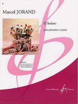 El Bolero Marcel Jorand Partition Multi Percussions - laflutedepan