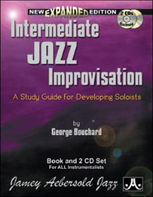 METHODE AEBERSOLD - Intermediate Jazz Improvisation with 2 CDs and 1 CD-Rom - Sheet Music - di-arezzo.co.uk