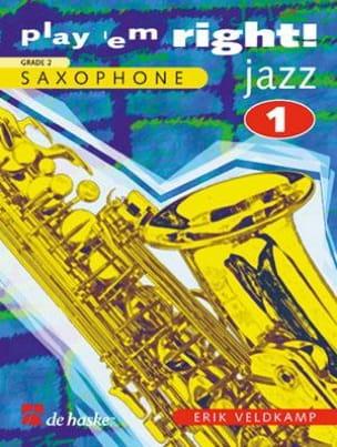 Erik Veldkamp - Play' Em Right ! Jazz Volume 1 - Partition - di-arezzo.fr