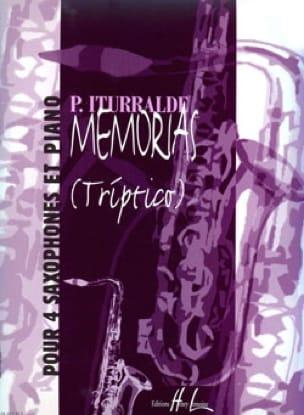 Pedro Iturralde - Memorias (Triptico) - Partition - di-arezzo.fr