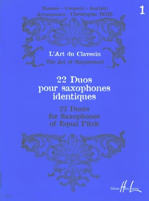 - 22 Duos for Saxophones Identical Volume 1 - Sheet Music - di-arezzo.co.uk